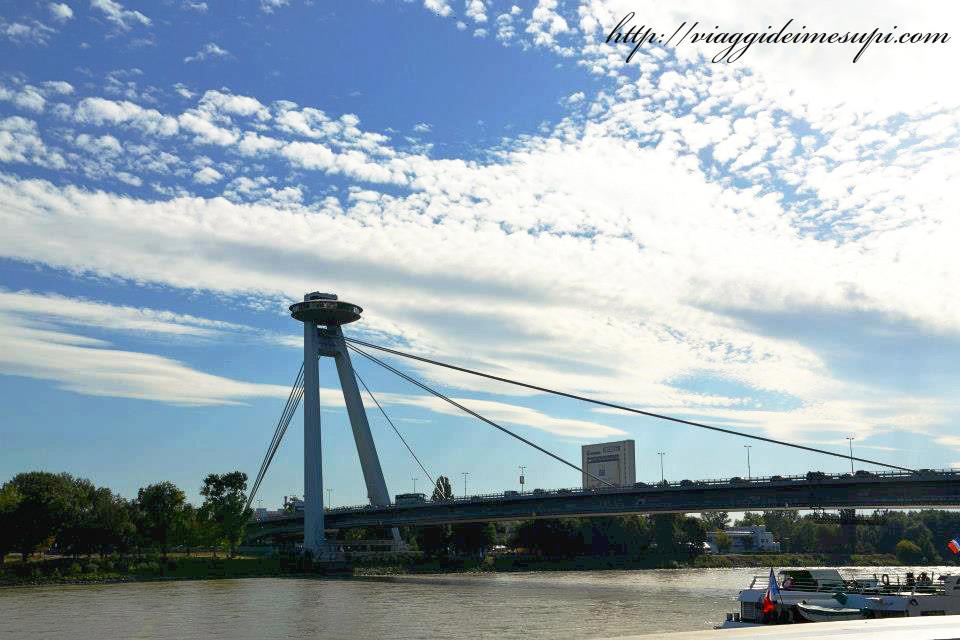 Cosa vedere a Bratislava - Ponte Novy most