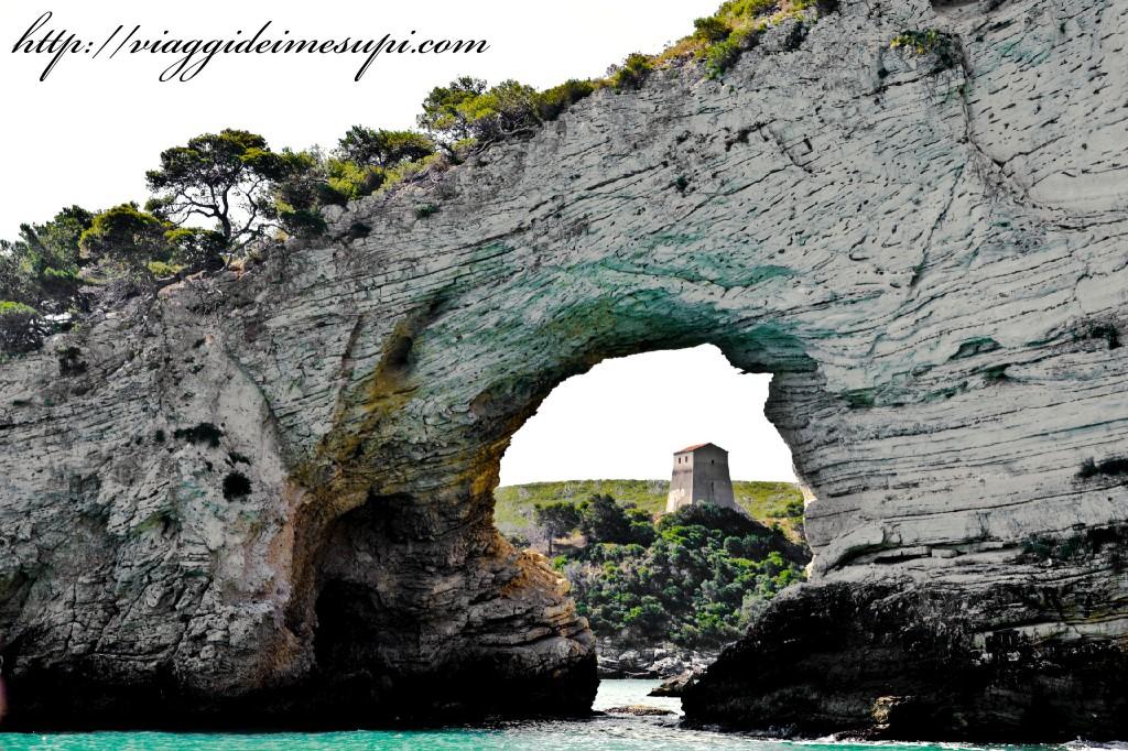 la costa del Gargano, arco