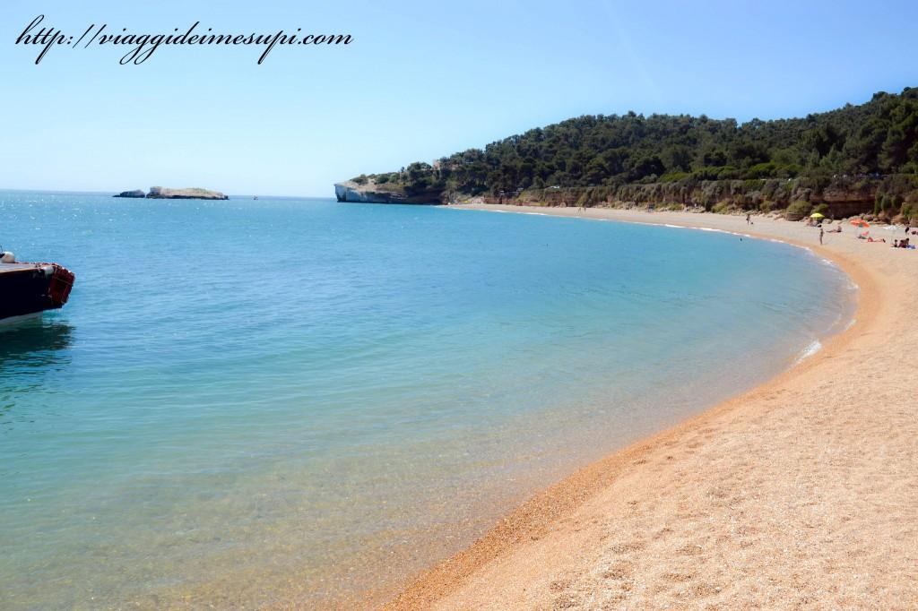 la costa del Gargano, Baia dei Campi