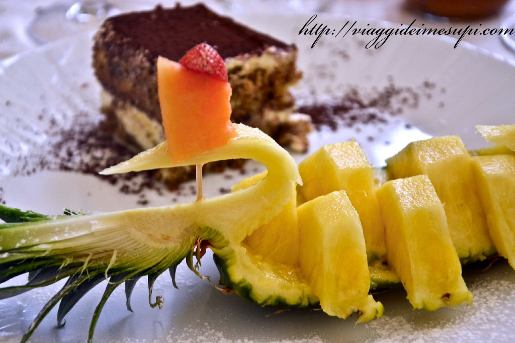 Palace Lucera Hotel, frutta