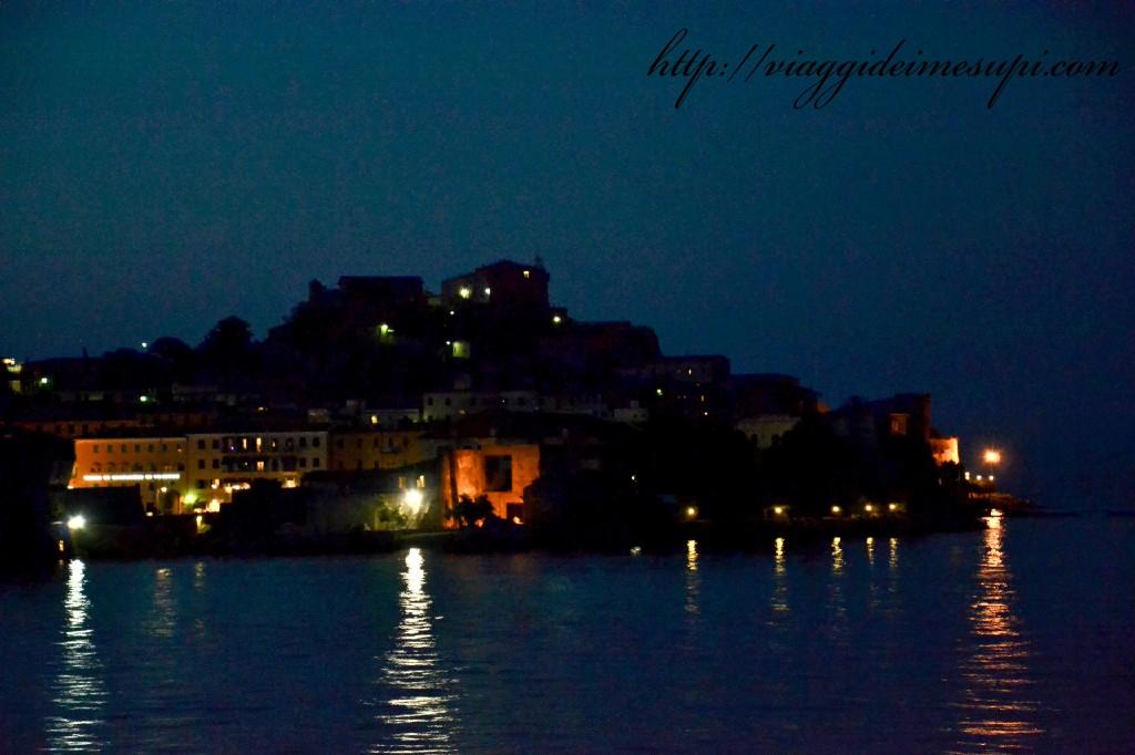 Qualche consiglio per l'Isola d'Elba, vista notturna