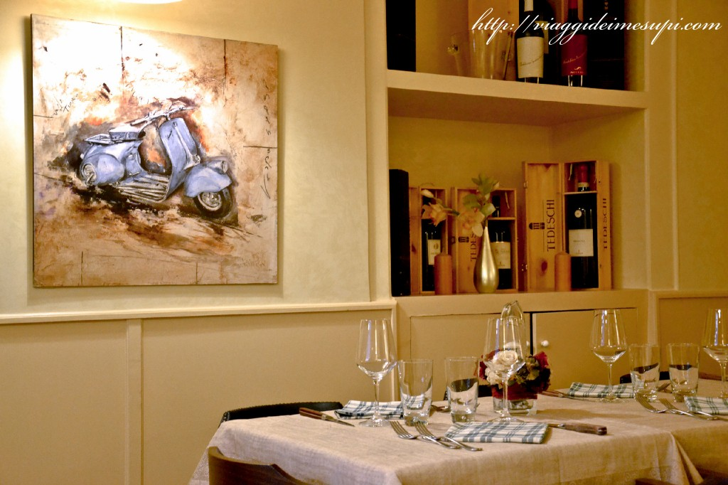 Pinsa Romana - tavoli Greppia