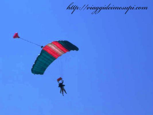 paracadutismo, volo