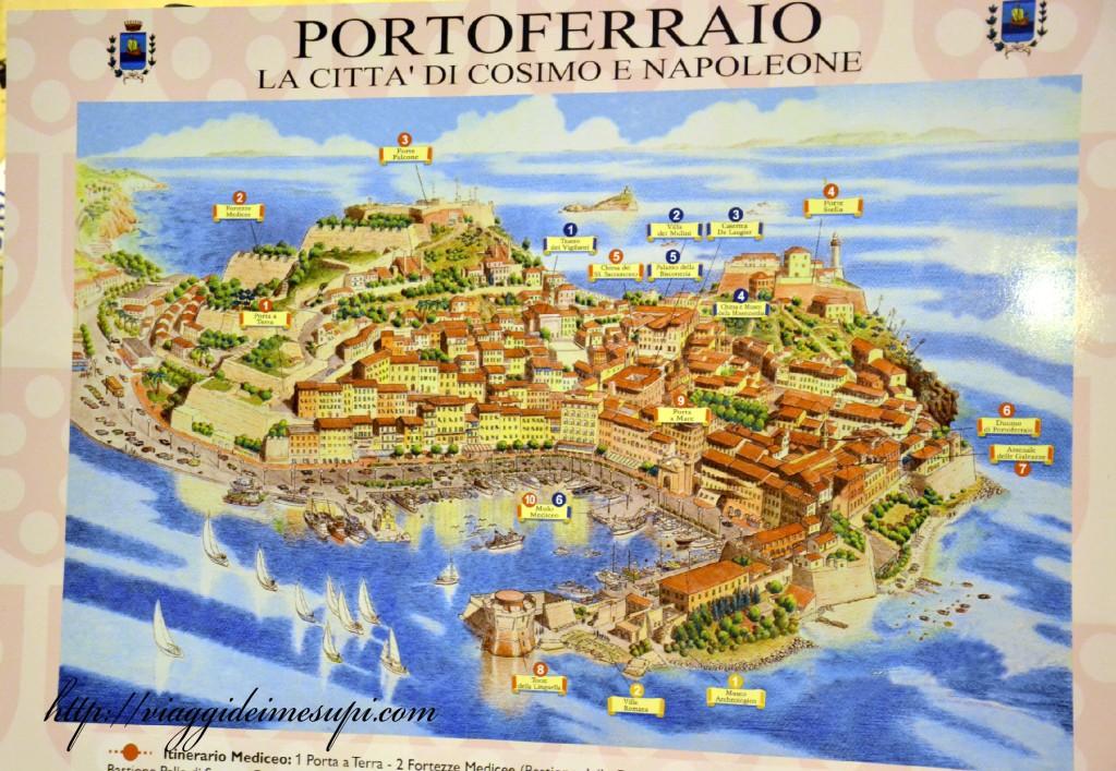 Residence La Calle - Mappa Elba