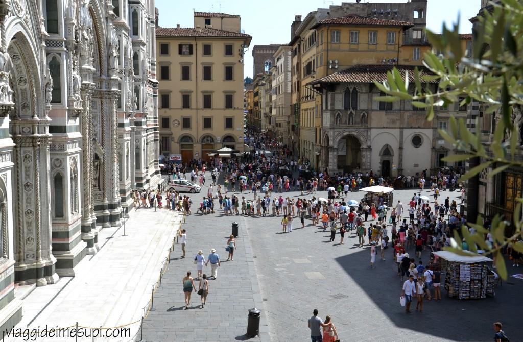 Firenze in un giorno, piazza del duomo