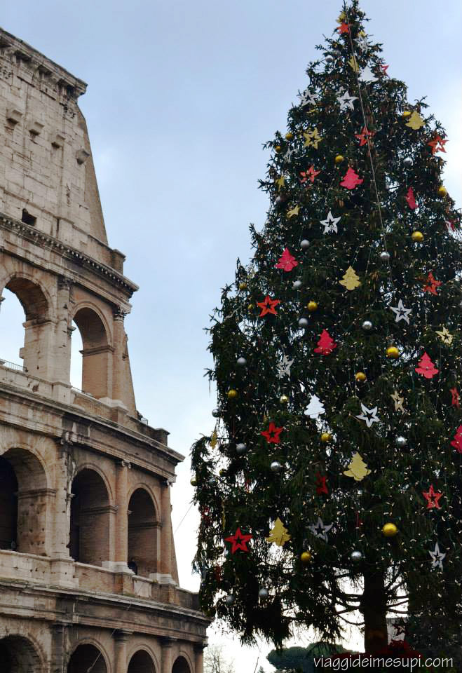 Natale a Roma Colosseo