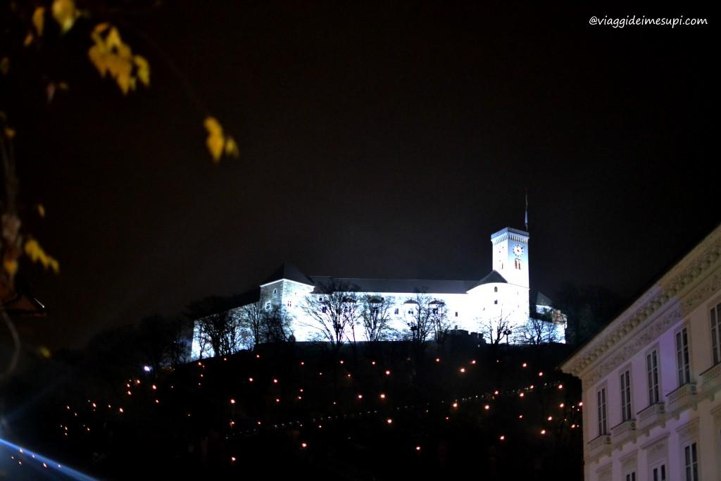 Capodanno a Lubiana, il Castello