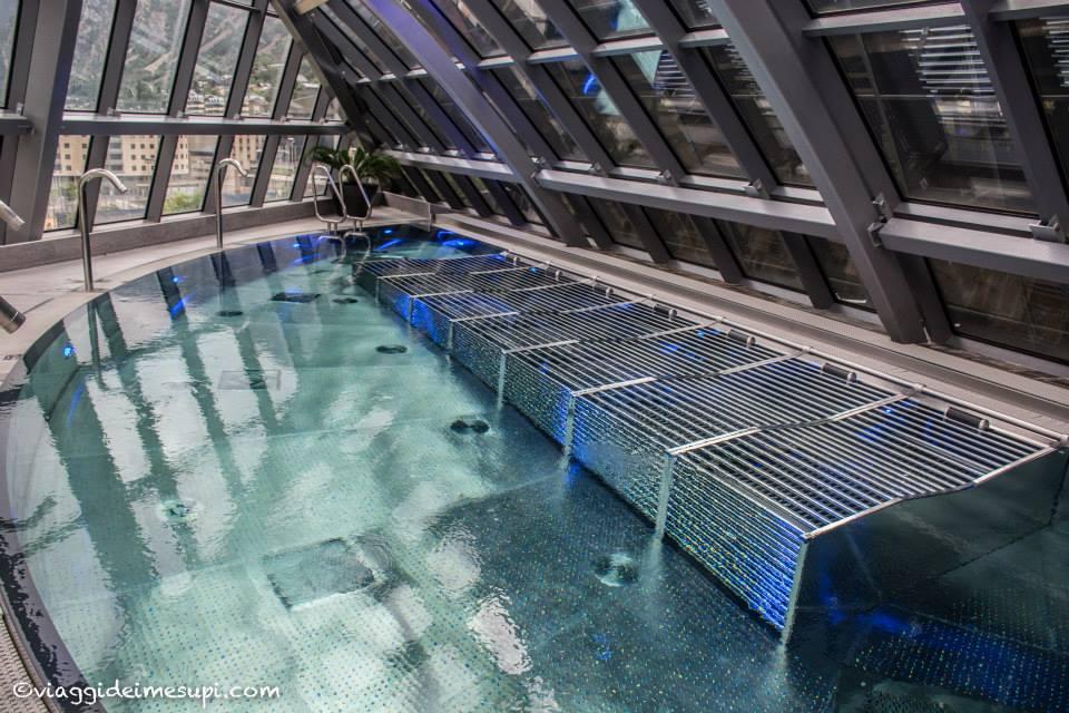 La Spa più bella del mondo: idromassaggio