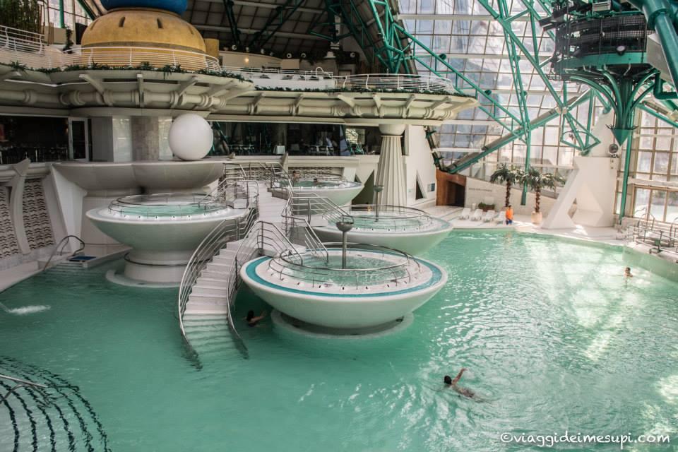 La Spa più bella del mondo: gran laguna