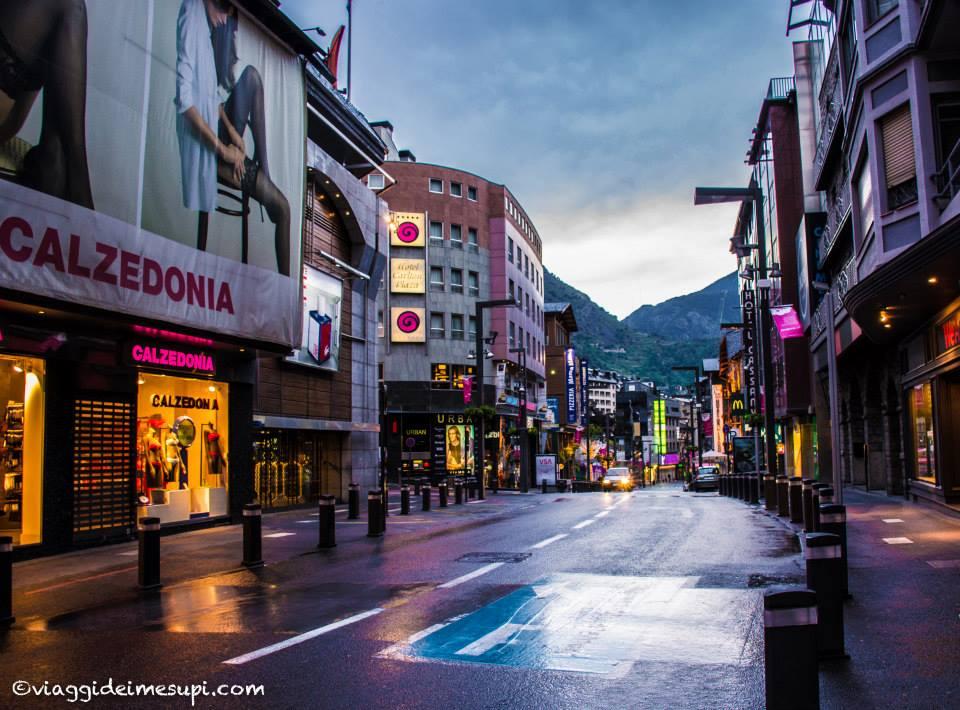 Andorra La Vella - Merixtell Avenue