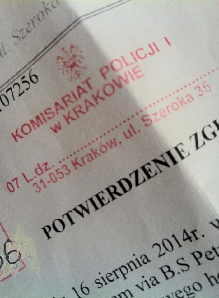 Denuncia Cracovia