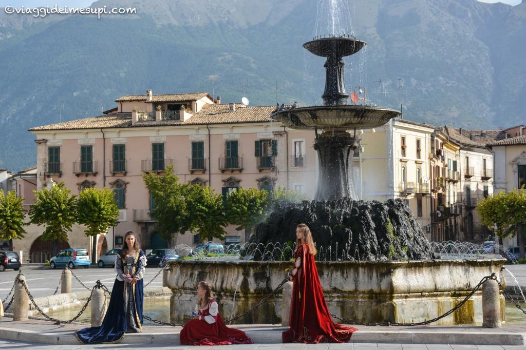 Abruzzo InstaRail, piazza Garibaldi, Sulmona