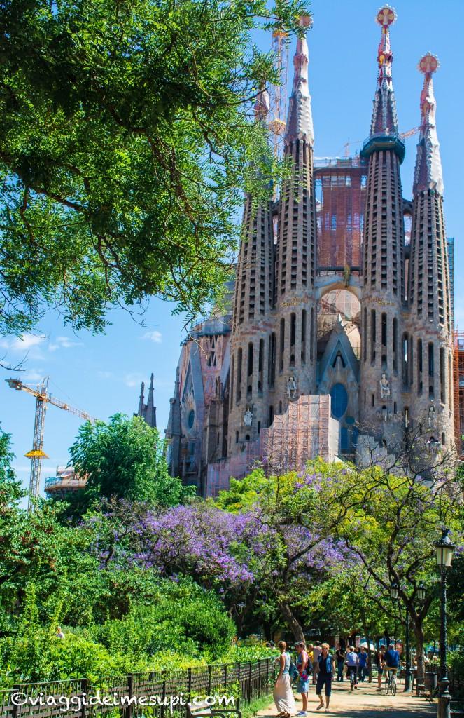 cosa vedere a Barcellona, la sagrada Familia