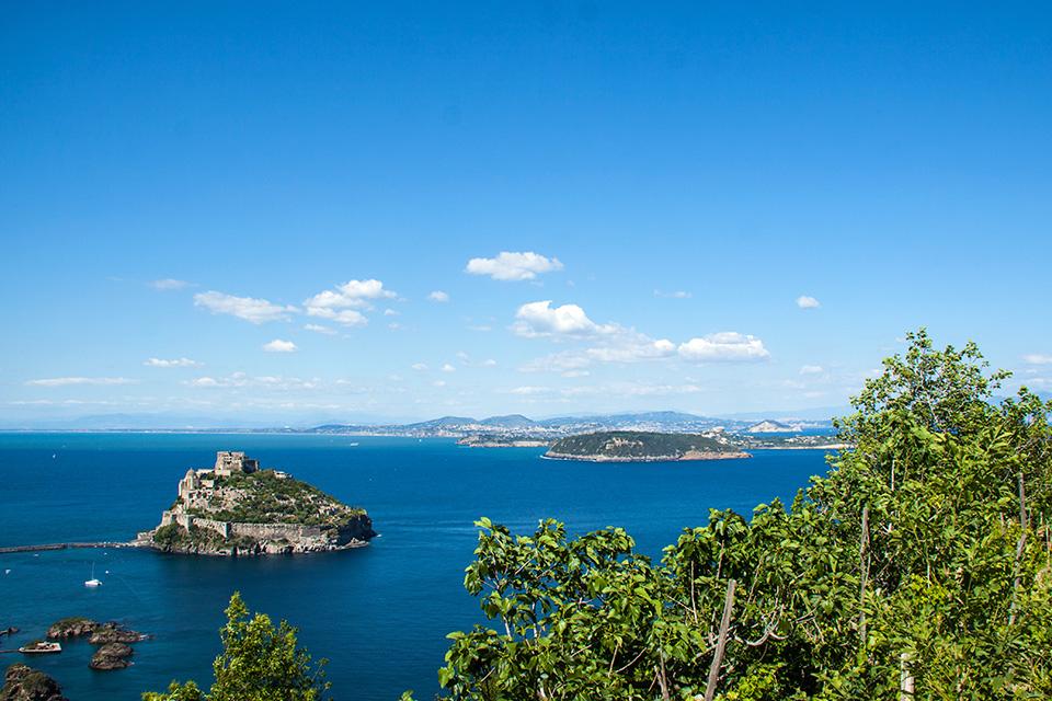 vacanza ad Ischia, panorama
