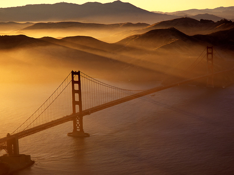 california dreaming, Frisco bridge