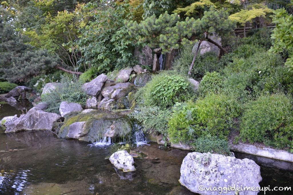 Orto botanico di Roma giardino zen