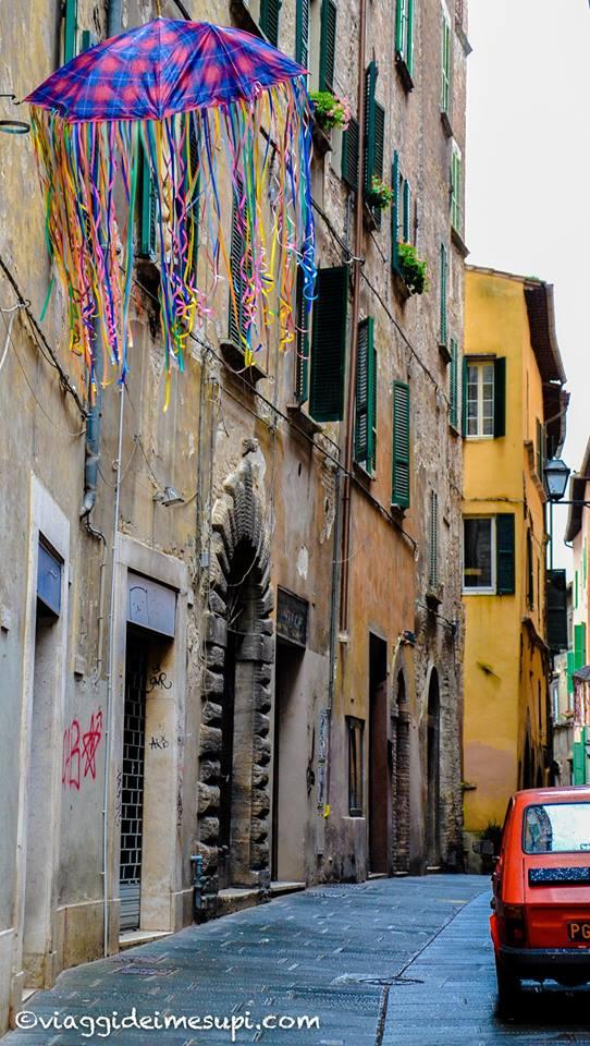 cosa vedere a Perugia Via della Viola
